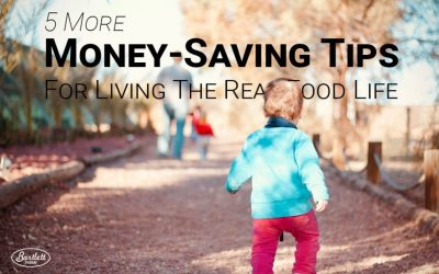 5 More Money-Saving Tips For Living The Real Food Life