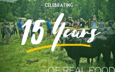 Celebrating 15 Years At Bartlett Farms!